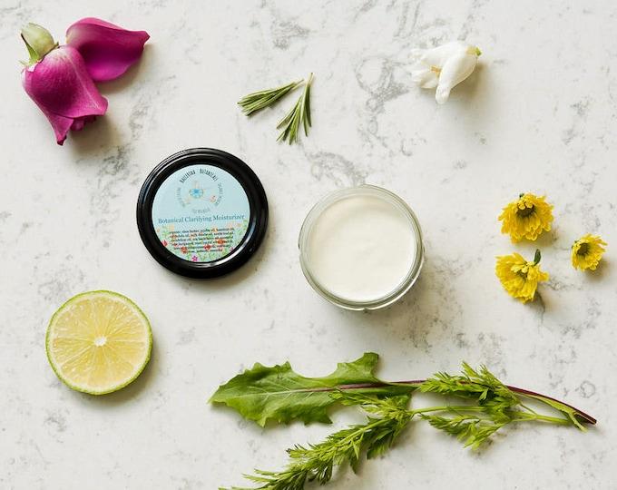 Vegan Face Cream, Plant Based with Essential Oils | Organic Face Cream, Lightweight for Oily Skin | Anti Aging Face Cream (2 oz)