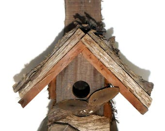 Bird House Antique NC Appalachian Mt Folk Art Handmade