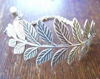 Silver Branch Bracelet