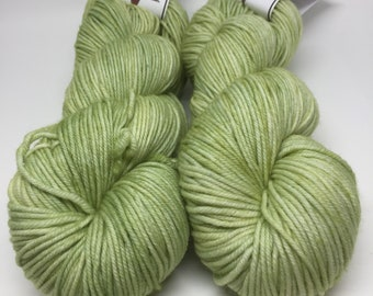 White Tail DK MCN DK Weight Yarn - Green Tea