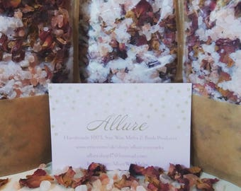 Rose Himalayan Bath Salts