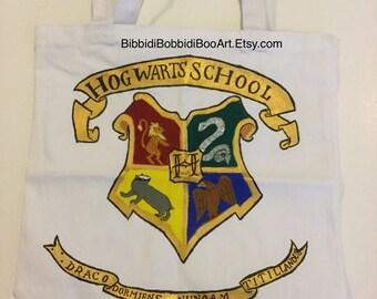 Hogwarts Crest tote bag