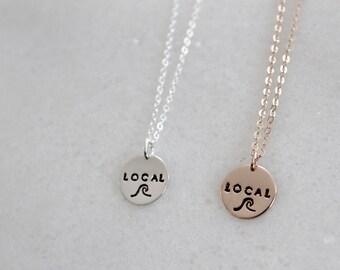 Local Mini Mantra Necklace
