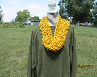 gold infinity scarf