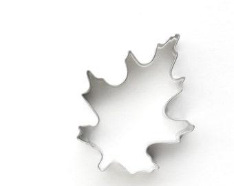 Oak Leaf Cookie Cutter, Fall Leaf Cookie Cutter, Thanksgiving Cookie Cutter