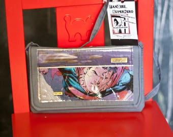 Comic Book Clutch - Superman by FanGirl. SuperHero.