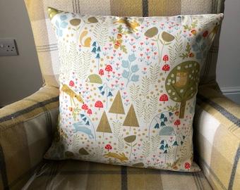 Wild Wood design Cushion Covers