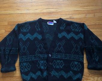 Vintage Sweater Graphix Oversize Cardigan Sweater