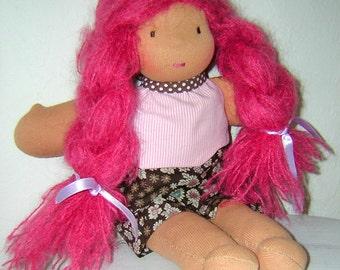 Organic Waldorf doll: Nina