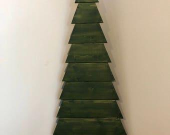 Wood Tree (tall) | Wood Christmas Tree | Rustic Wood Tree | Wooden Tree | Rustic Home Decor