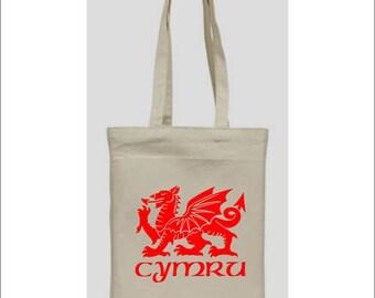 Welsh Dragon... tote bag