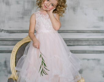 BRIL Flower Girl Dress / First Communion / Special Occasion Dress
