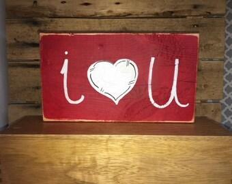 Valentine's i love u