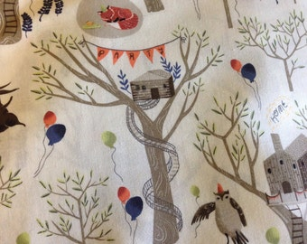 SALE - Crib Sheet - Treetop Party
