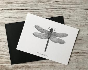 Dragonfly notecard / Postcard