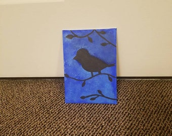 Bird Silhouette Canvas