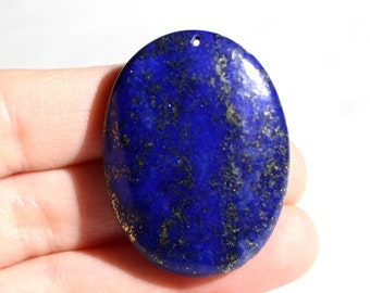 Lapis Lazuli Pendant - Oval Pendant - Blue Pendant - Blue Gemstone - Gemstone Pendant - Semi Precious Pendant - #292