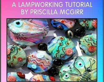 Decorate with Dichro. Lampwork tutorial