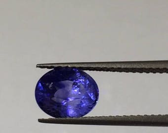 1.71 Cts Blue Sapphire (Cornflower colour) from Sri Lanka with Certification