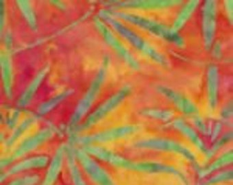 palm tree sunset, 1/2 yd