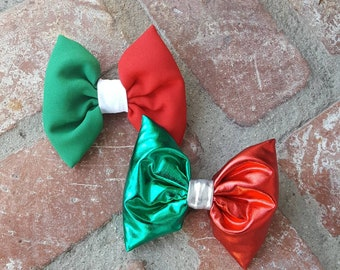 Mexico, Italy, Mexican Bow, Italian Bow, green, white, red, Christmas