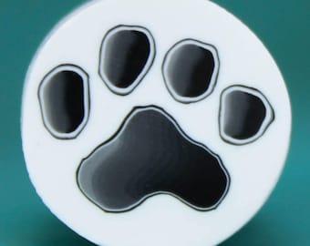 Polymer Clay Paw Print Cane -'Puppy Love' (10dd)