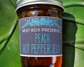 Peach Hot Pepper Jelly...
