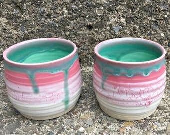 Pink Lotus Tea/Wine Cups