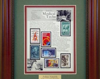 Medical Technician (Lab) 5752 - Personalized Framed Collectible (A Great Gift Idea)
