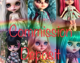 Deposit for custom Blythe commission