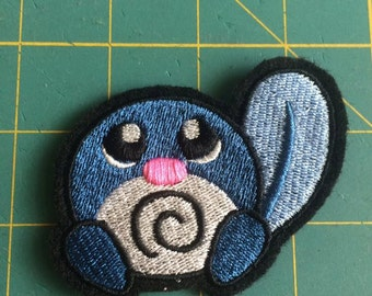 Poliwag iron-on patch