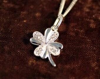 Lucky 4-Leaf Clover Pendant