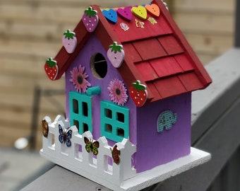 Strawberry birdhouse