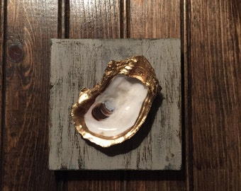 Oyster Ring Dish/Wall Decor