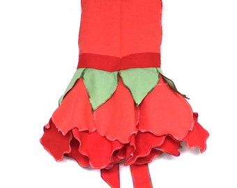 Coral Fairy Dress, Party Dress, Girls Clothing, Fairy Costume, Toddler Dress, Baby Girl Dress, Kids Dress Up, Birthday Outfit, Tinkerbell