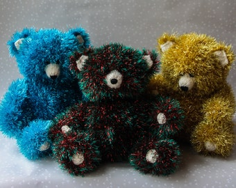 King Cole Tinsel Bear (sold separately)