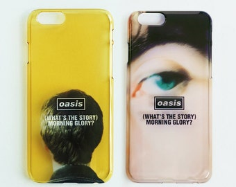 Oasis '(What's The Story) Morning Glory?' Booklet Cover Art Clear 3D Printed iPhone5/5s, 6/6s, 6/6s Plus, 7, 7 Plus Case