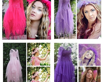 Woman's Halloween  Plus Size Fairy  Costume ~  Party Dress ~  Hens Night ~ Masquerade ~ Renaissance ~ Theatre ~ Dance ~