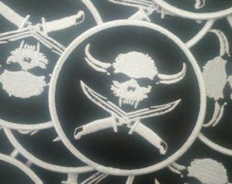 PACK X2 Skull Patch