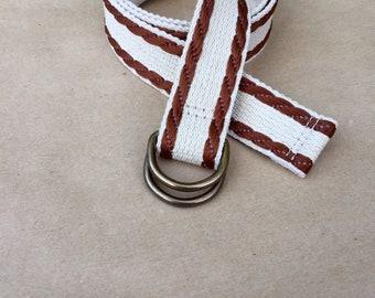 Women's Canvas belt -  Vintage