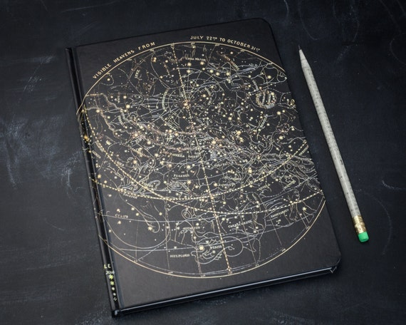 Star Chart Night Sky Journal Astronomy Notebook Stars