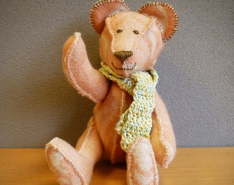 Bear made of blanket