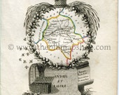 1823 Perrot Map of Indre-...