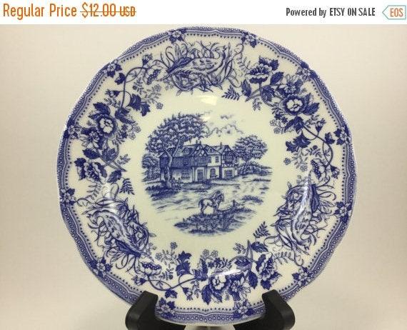 Like this item? & Sale Vintage Ironstone Tableware Underglaze Salad Dinner Wall
