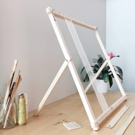 Large Weaving Loom | Loom | Woven Wall Hanging | Weaving Tools ...
