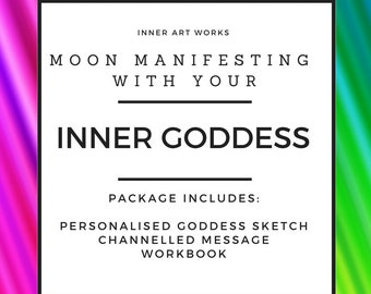 Moon Manifesting with your Inner Goddess Sketch & Workbook