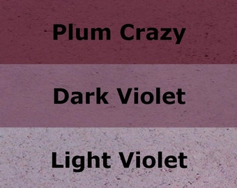 Mosaic Grout Purple SANDED Grout Variety Three-Pack - One-Half Pound Each