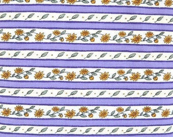 Cultivate Kindness Quilt Fabric by Deb Strain,  for Moda Fabrics, 100 Percent Cotton, Fabric by the Yard Purple Quilting Material