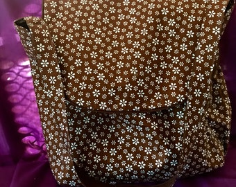 Hand made diaper bag