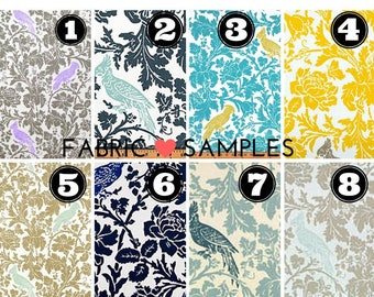 Fabric Sample-Throw Pillow-Valances-Fabric-Decorative Throw Pillow Cover Fabric Swatch Decorator Fabrics 100 Plus Fabrics IN STOCK